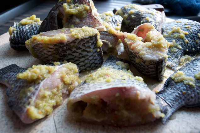 Seasoned Fish