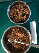 spiced granola